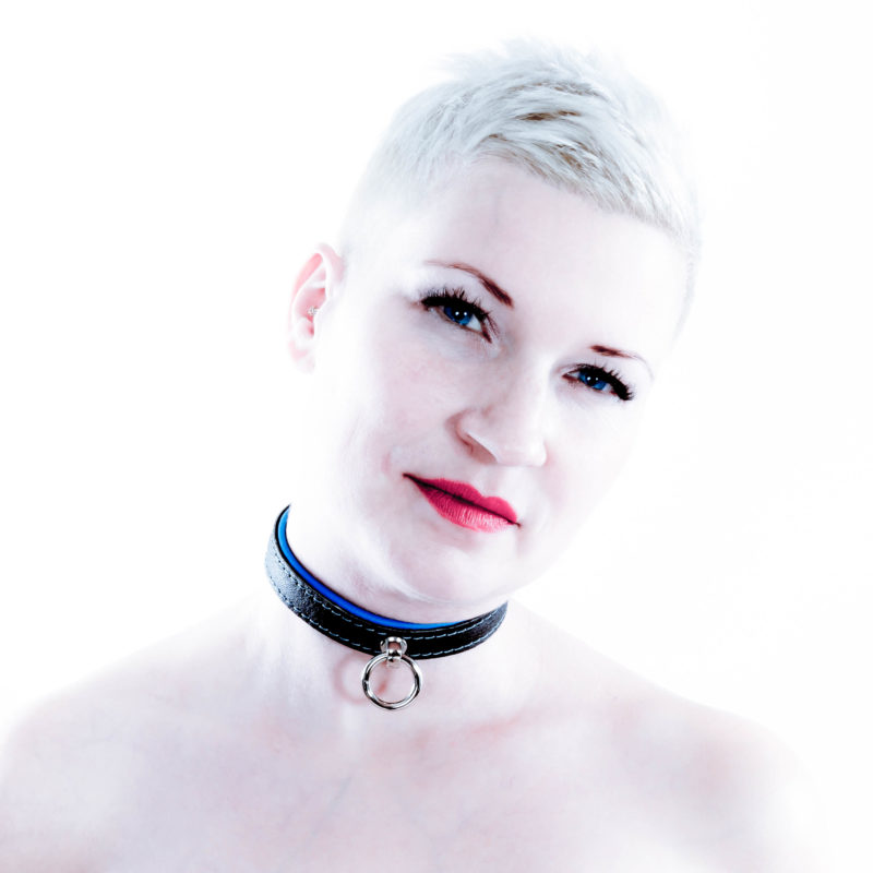 SiaLinda Halsband Elch zweifarbig