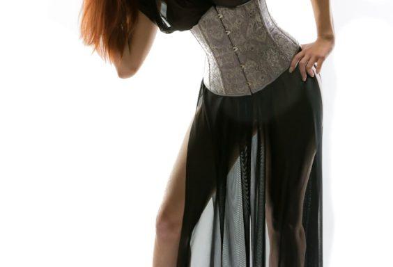 SiaLinda Kleid Lydia schwarz