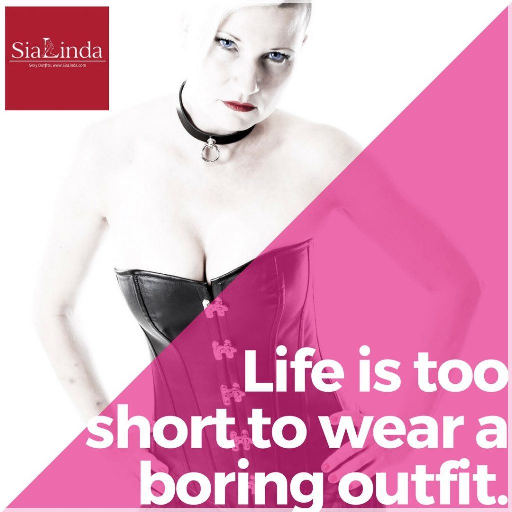 Life is too short to wear a boring outfit