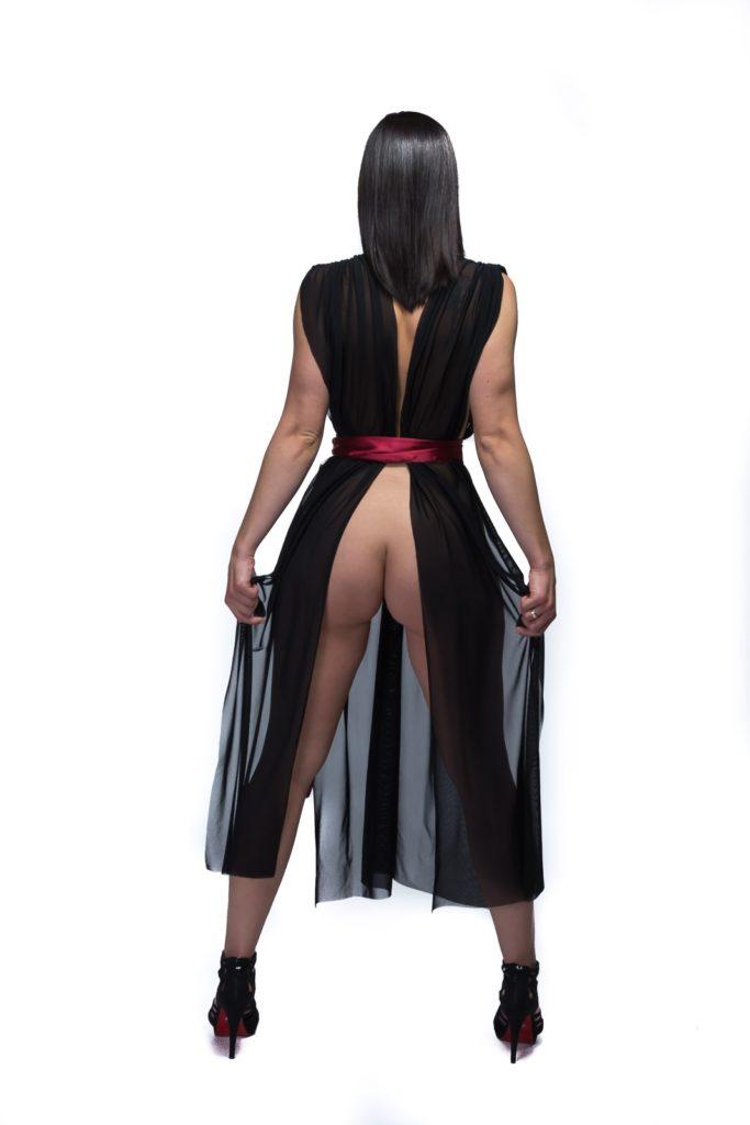 SiaLinda Kleid Lydia von hinten