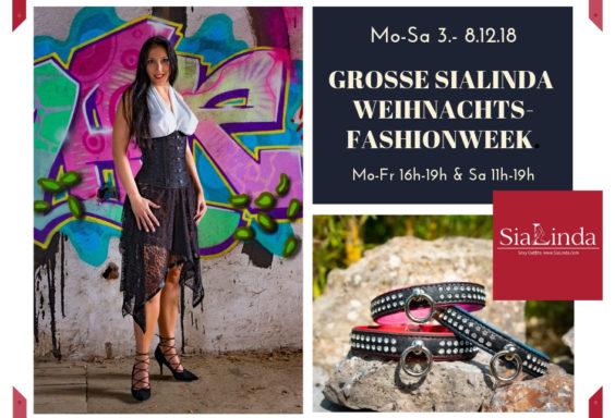 SiaLinda Weihnachts-Fashionweek