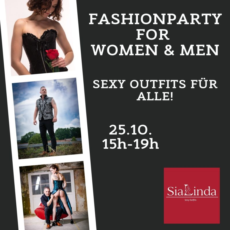SiaLinda Fashionparty 25.10.19