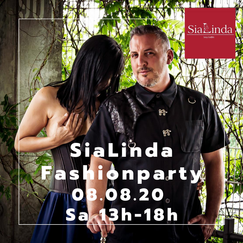 SiaLinda Fashionparty 8.8.20