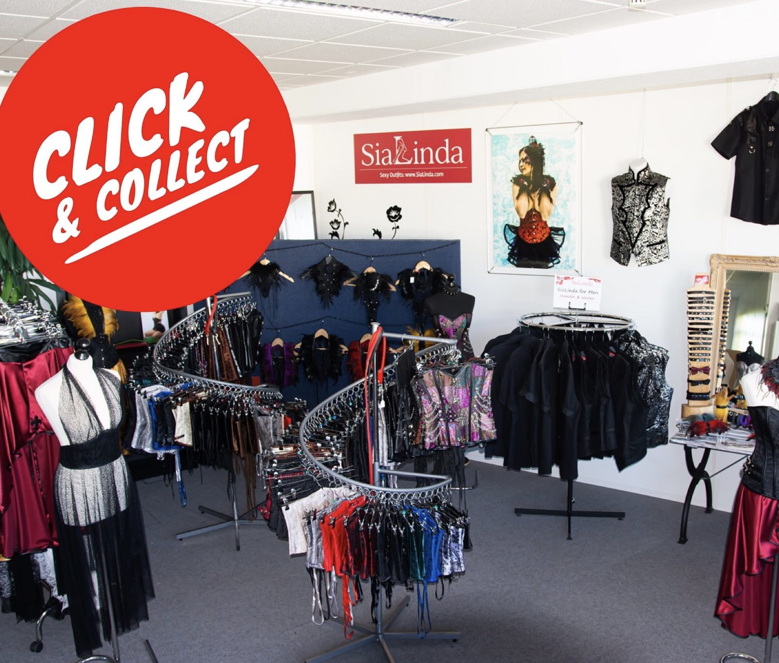 SiaLinda click and collect