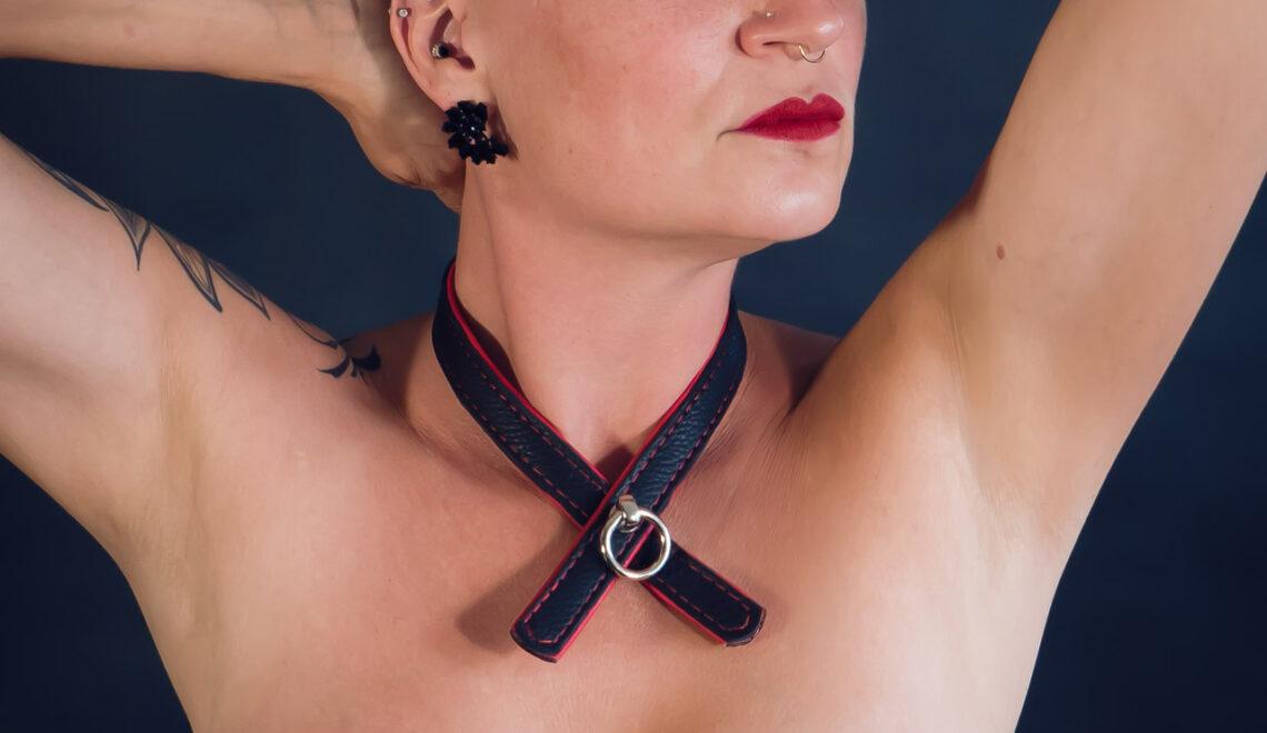 Neu: Halsbänder Schleife